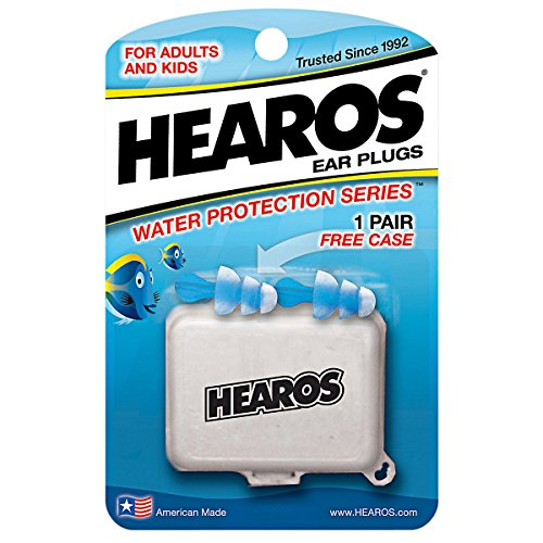 Hearos Water Protection Ear Filters W/ Case Hearos 2 Piece Filter front-64105