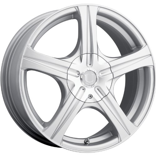 Ultra Slalom 16 Silver Wheel / Rim 5x100 & 5x4.5 with a 42mm Offset and a 73 Hub Bore. Partnumber 403-6618+42S (Daytona Rims 5x5 compare prices)
