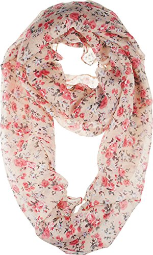vivian-vincent-soft-light-elegant-small-floral-sheer-infinity-scarf-peachpuff