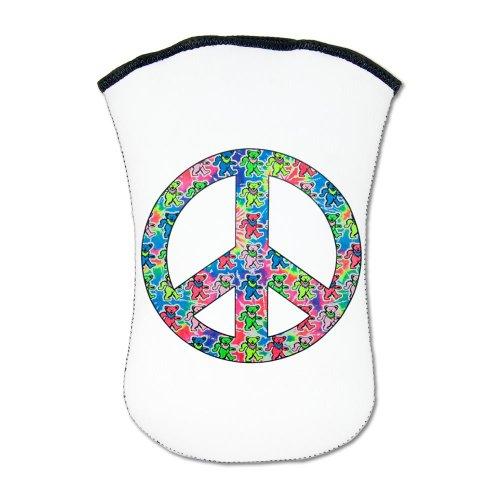 Kindle Sleeve Case (2-Sided) Tye Dye Peace Symbol