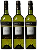 Tio Pepe Wine Extra Dry Light Sherry 75 cl (Case of 3)