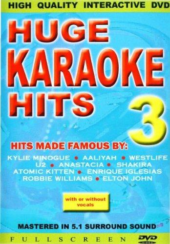 Huge Karaoke Hits 3 [DVD]