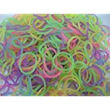 600 Loom bands Glow in the Dark