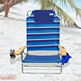 Big Kahuna Heavy Duty Folding Rio Beach Chair - Extra Wide & Tall