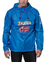 Geographical Norway Chaqueta Impermeable Brest (Azul / Rojo)