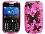 Blackberry Curve 8250 9300 Butterfly Back Skin Soft Cover Case MobileZoneUK