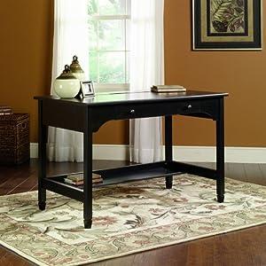 "Sauder Woodworking / Edge Water Mobile Lifestyle Writing Desk (Estate Black) (29.37""H x 46.693""W x 24.134""D)"