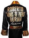 Roberto Duran Signed Black Robe