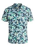 Quiksilver Mens Floral Button Up Shirt