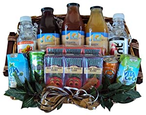 Buy juice gift baskets - Well Baskets Healthy Juice Gift Basket