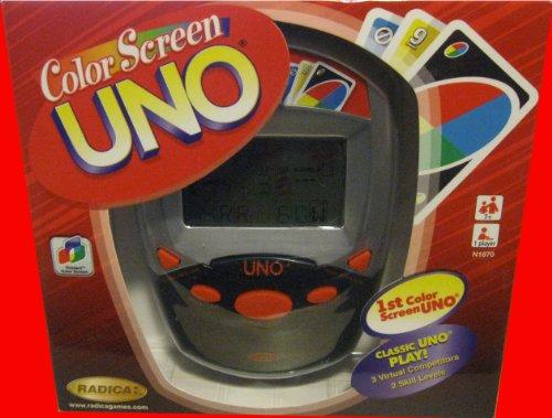 Imagen de Electrónico de mano color de la pantalla del juego UNO