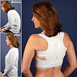 "Magnetic Back and Shoulder Support - Regular Fits 30"" - 37.5 "" Chest"