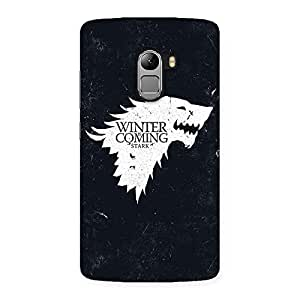 Cute Games Of Winter Grey Back Case Cover for Lenovo K4 Note