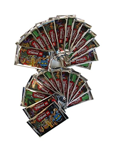 LEGO NINJAGO Trading Cards - 25 Booster