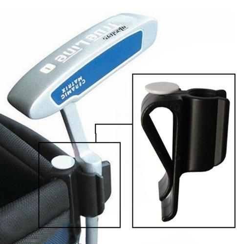 Andux Golf Bag Clip-on Putter Holder Golf Organizer Putter Clip Ball Marker--black TGK/01