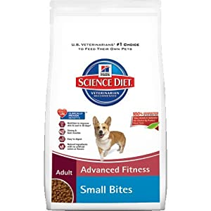 Hill's Science Diet Adult Advanced Fitness Small Bites Dry Dog Food, 17.5-Pound Bag