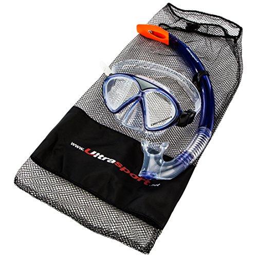 Ultrasport-Kinder-Schnorchelset-Aqua-Splash-bestehend-aus-Tauchmaske-und-Schnorchel