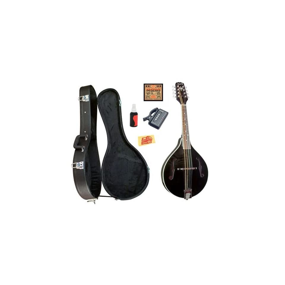 Kentucky KM 161 A Model Mandolin Bundle with Hardshell Case