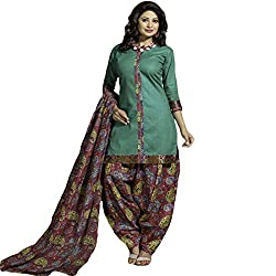 Typify Women's Cotton Unstitched Dress Material (TYPIFY247_Multicolor_Free Size)