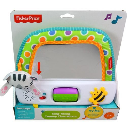Sing Along Tummy Time Mirror - 1