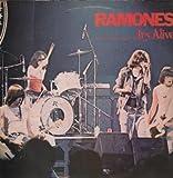 RAMONES IT'S ALIVE LP (VINYL ALBUM) UK SIRE 1979