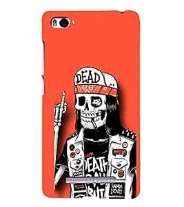 EPICCASE Skull Pirate Mobile Back Case Cover For Xiaomi Redmi Mi4i (Designer Case)