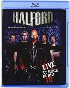 NEW Halford - Live At Rock In Rio Iii/live I (Blu-ray)