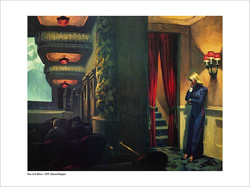 New York Movie, 1939 art print by Edward Hopper, 60cm x 80cm (Edward Hopper New York Movie compare prices)