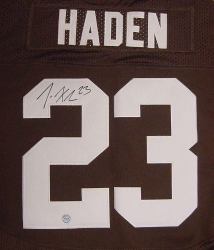 Joe Haden Cleveland Browns Autographed Jersey W/coa at Amazon.com