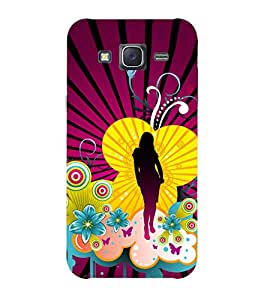 Doyen Creations Printed Back Cover For Samsung Galaxy J7