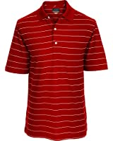 Greg Norman Collection Men's Protek Micro Pique Fine Stripe Polo Shirt