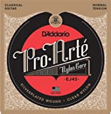 D'Addario ダダリオ クラシックギター弦 プロアルテ Silver/Clear Normal EJ45 【国内正規品】 ランキングお取り寄せ