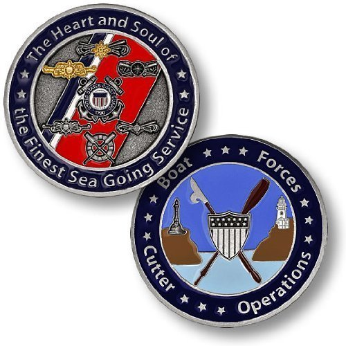 Coast Guard Boat Forces Cutter Operations Challenge Coin