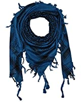 Freak Scene® Pali-scarf classic, two-colour ° PLO scarf ° 40x40 inch ° Pali Palestinian Arafat scarf ° 100% cotton - all colours!