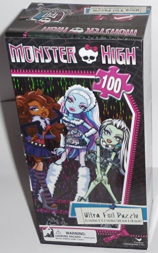 Monster High Ultra Foil Puzzle -100 pieces