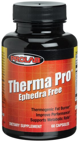 Prolab Therma Pro Ephedra Free, 60-Count Capsules