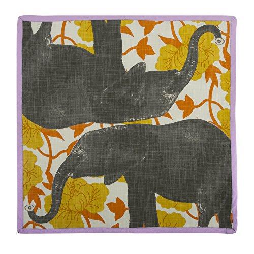 Thomas Paul NP0535-SAF Elephant Napkin, Saffron