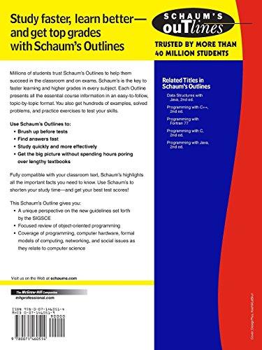 Schaum's Outline of Principles of Computer Science (Schaum's Outline Series)