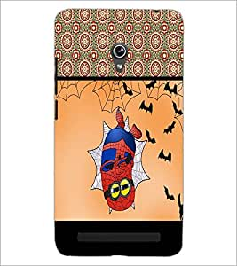 PrintDhaba Funny Image D-4074 Back Case Cover for ASUS ZENFONE 6 A601CG (Multi-Coloured)