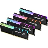 G.SKILL TridentZ RGB Series 32GB (4x8GB) DDR4 3600MHz DIMM F4-3600C17Q-32GTZR