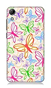 7C High Quality Back Case Cover For Htc Desire 728