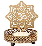 Jaz Deals Shadow Om Tea Light Candle Holder
