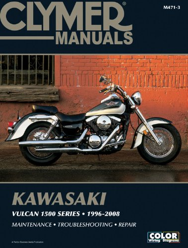Kawasaki Vulcan 1500 Series 96-08 (Clymer Motorcycle Repair) back-578621