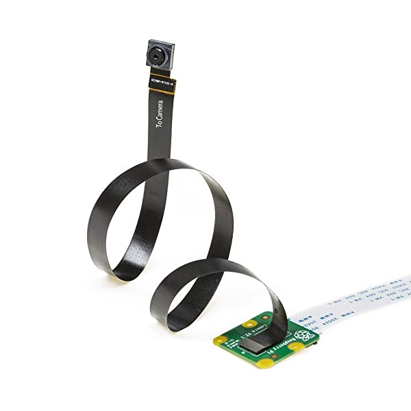 Arducam Sensor Extension Cable for Raspberry Pi Camera Module V2, 300MM/1FT Cable to Extend IMX219 Sensor for Smaller Enclosure, Narrow Space and Spy Camera Project, Work with V2 Camera on Jetson Nano (Color: Extension Cable for Raspberry Pi Camera V2)