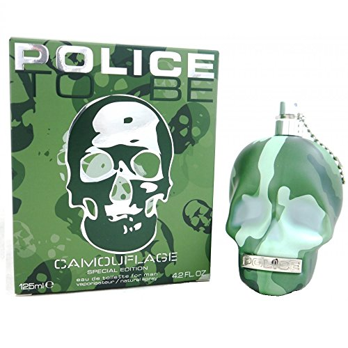 Police, To Be Camouflage, Eau de Toilette, 125 ml