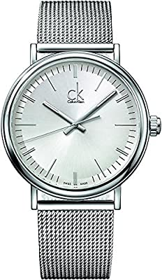 Calvin Klein ck Surround Stainless Steel Mens Watch K3W21126