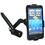 Amzer Lighter Socket Mount with Power Dongle for HTC Inspire 4G – Black