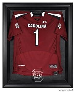 South Carolina Gamecocks Black Framed Logo Jersey Display Case - Mounted Memories... by Sports Memorabilia