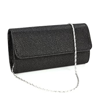 Mini Sac a Main Pochette Style Portefeuille Glitter pr Soiree Mariage Femme Fille 3couleur