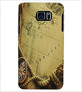 PRINTSWAG MAP Designer Back Cover Case for SAMSUNG GALAXY S6 EDGE PLUS